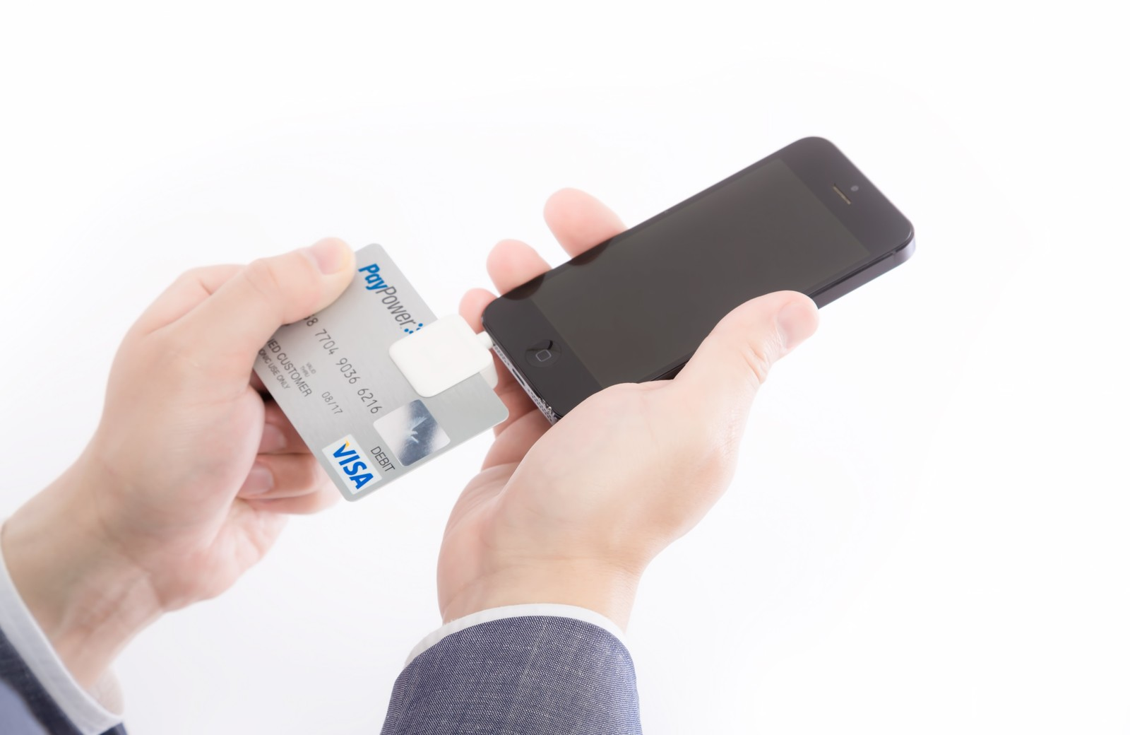 iPhoneとカード
