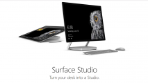 Microsoft初の一体型PC「Surface Studio」発表。ペン・タッチ入力に対応し、独自のヒンジにより巨大な液タブのような使い方も