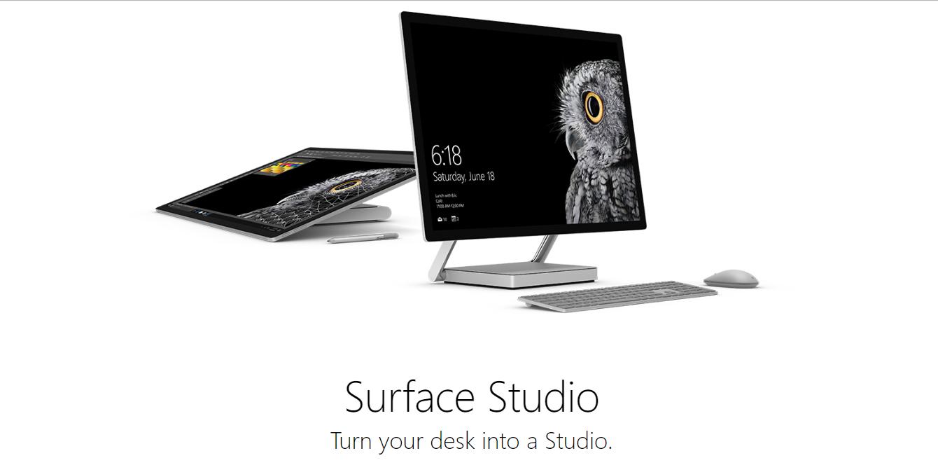 Surface Studioのスペック