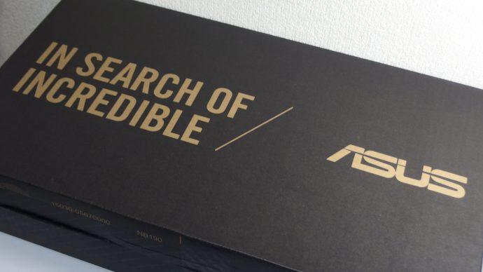 ZenBook3の外箱