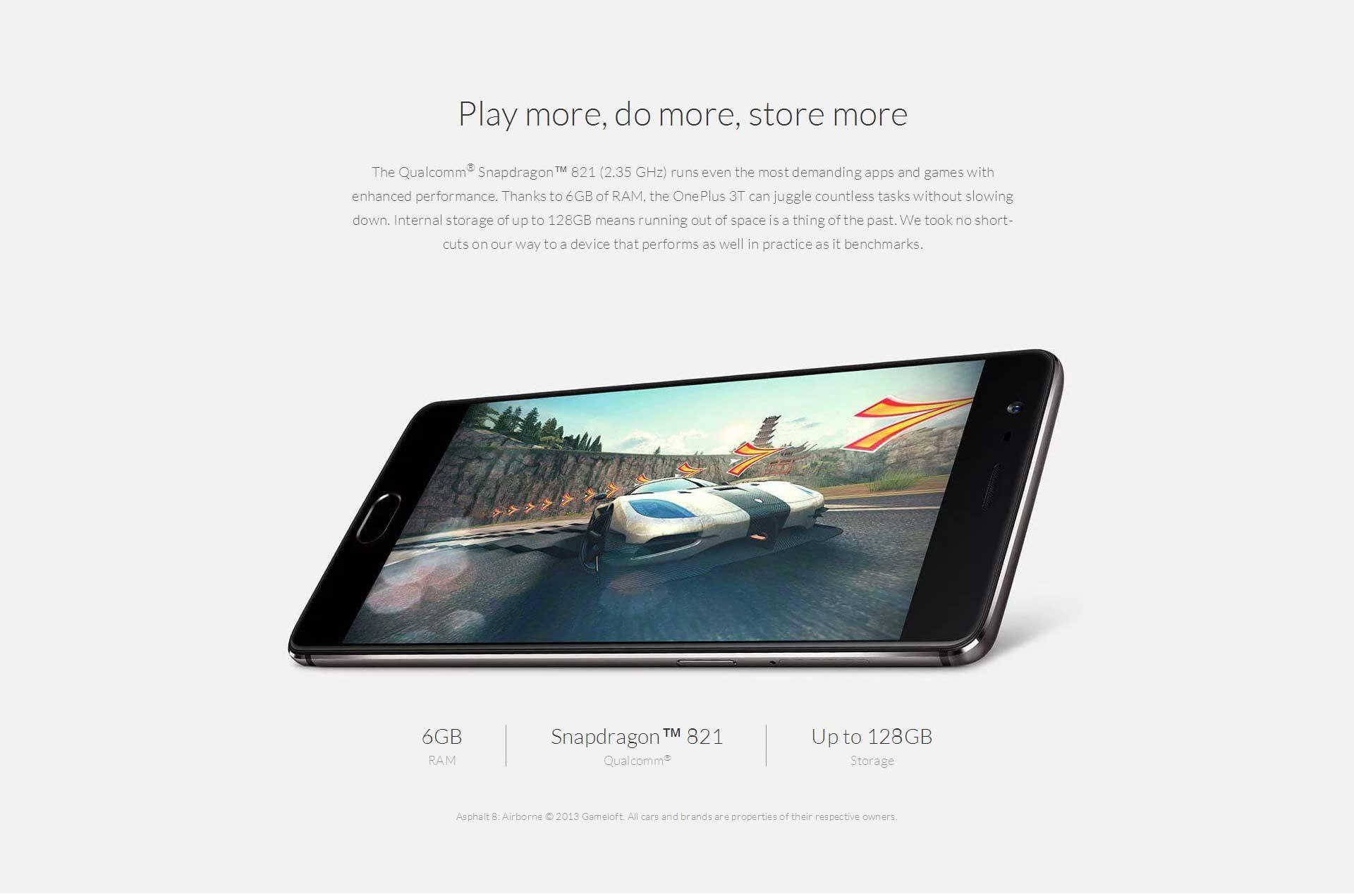 OnePlus 3T スペック