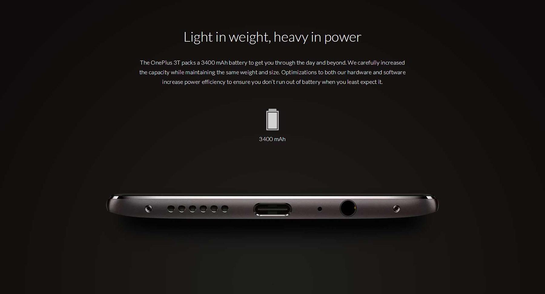 OnePlus 3T type-C