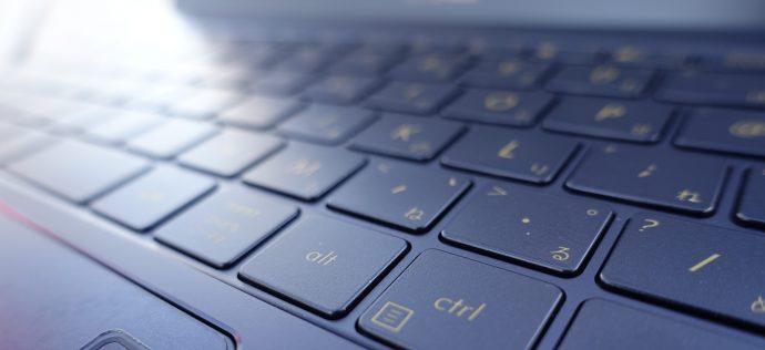 zenbook 3のキーボード