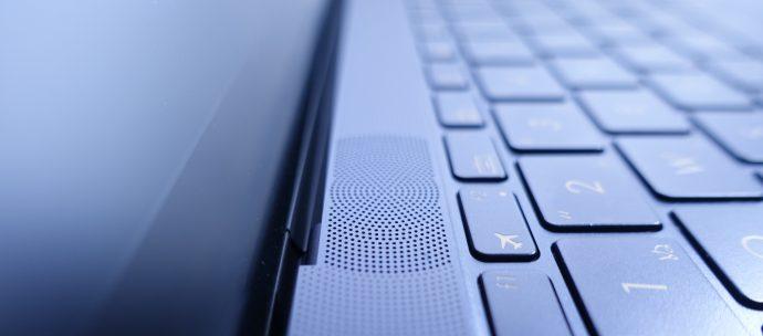 ZenBook3 スピーカー