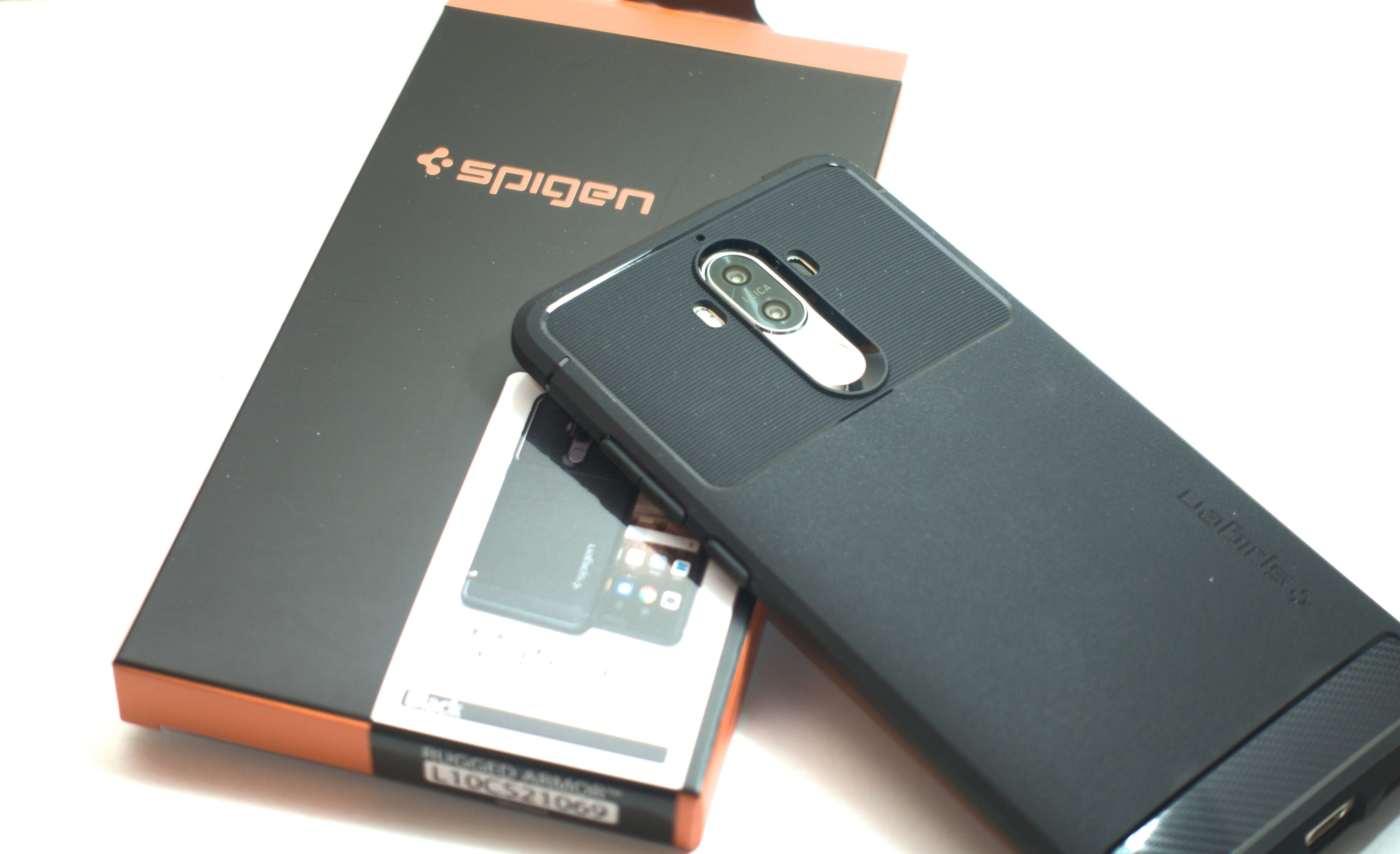 Huawei Mate 9用のケースにはSpigenのラギッド・アーマーが良い感じ