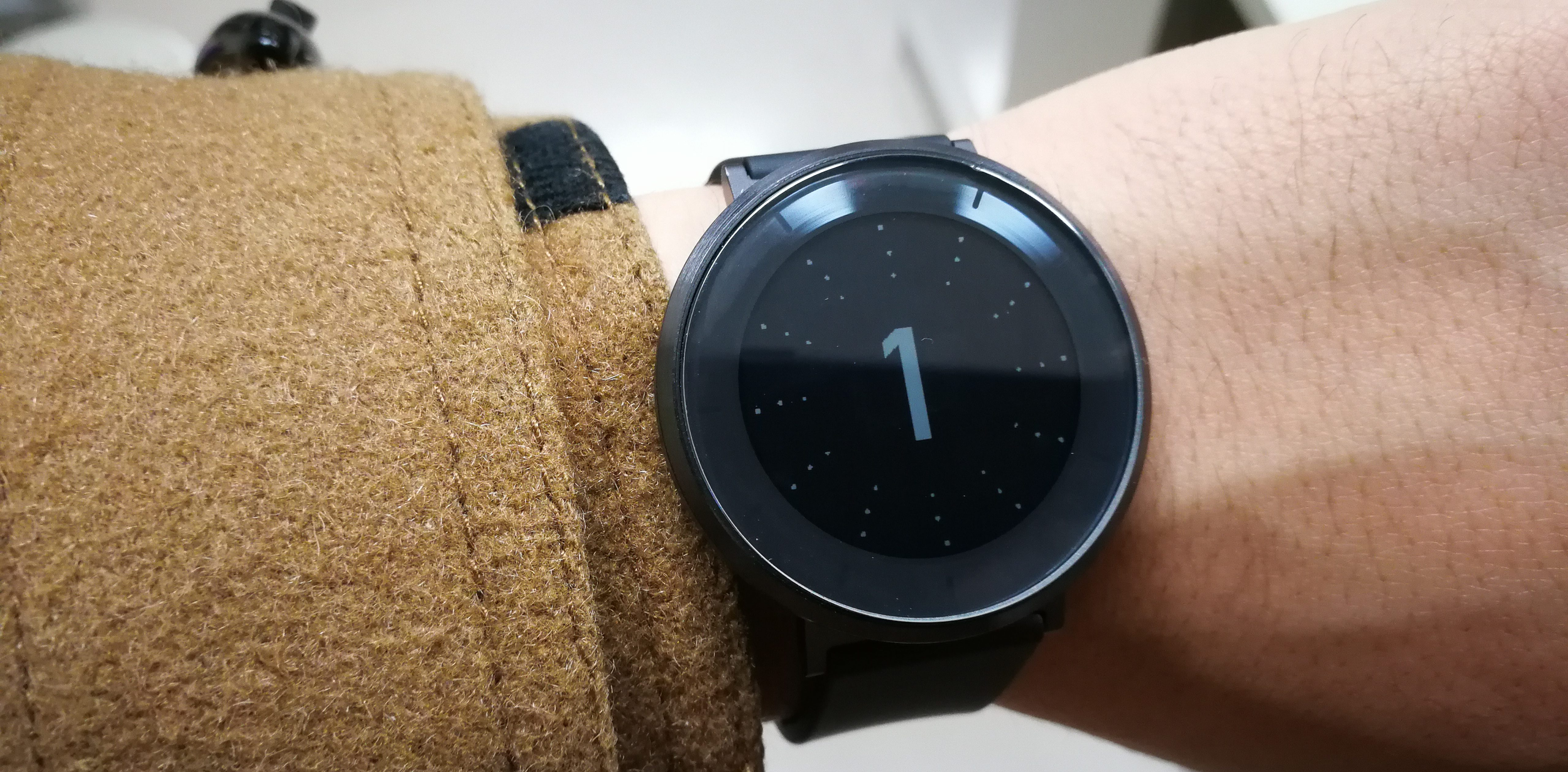 huawei fit カウントダウンを表示