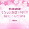LINEモバイルが春の新生活応援キャンペーンを開始。月額基本利用料が最大3ヶ月無料に