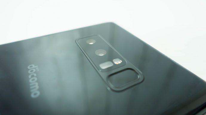 note8の指紋センサーの位置