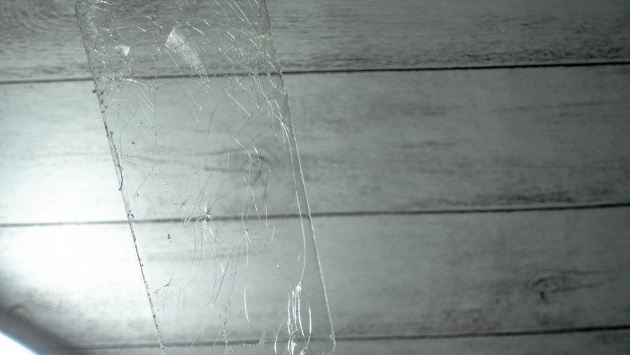 剥がしたWhitestone Dome Glass