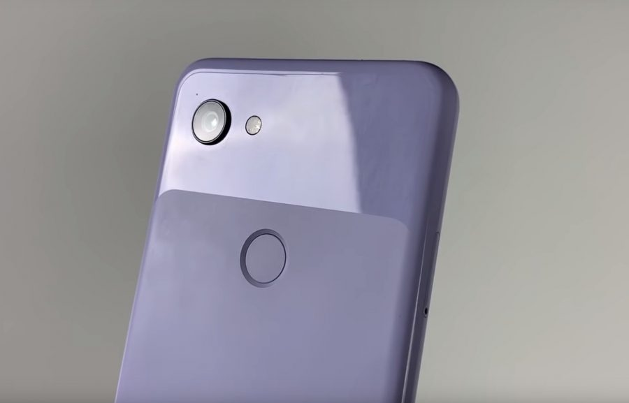 Pixel 3 Liteのカメラと指紋センサー