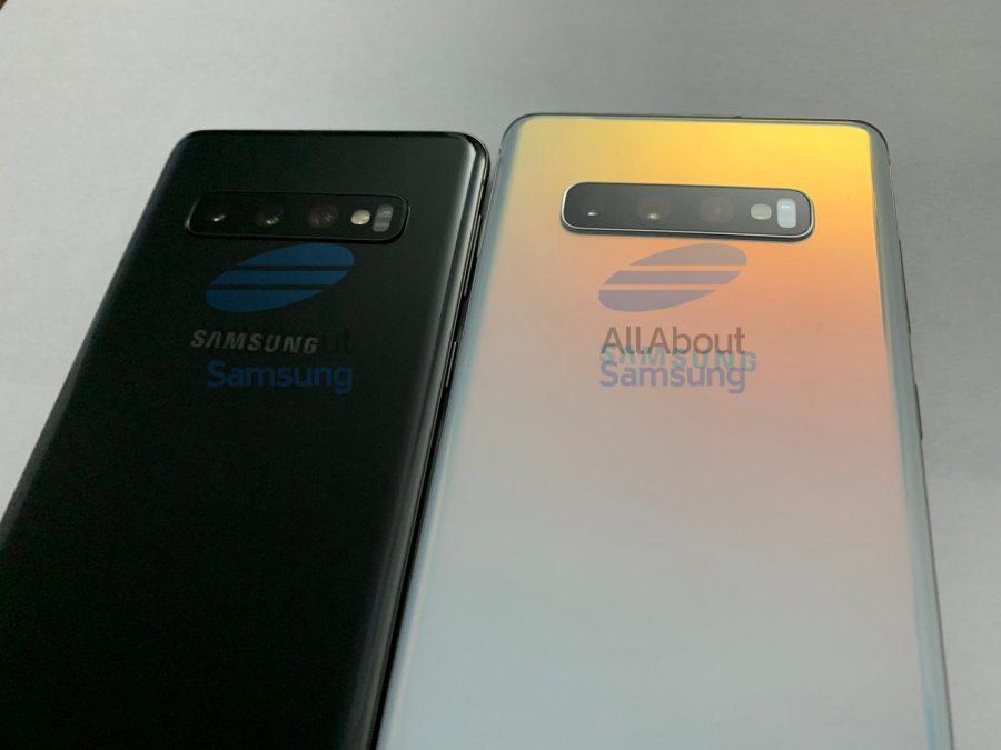 Galaxy_S10とS10+の背面