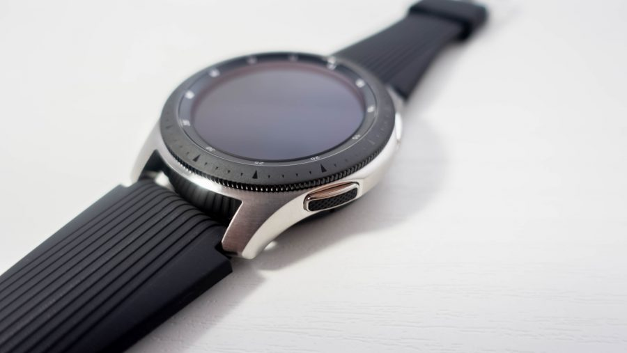 Galaxy Watch Activeは回転ベゼルなし