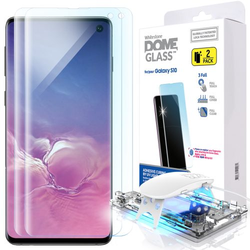Galaxy S10用のWhitestone Dome Glass