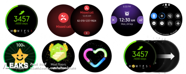 Galaxy Watch ActiveのUI