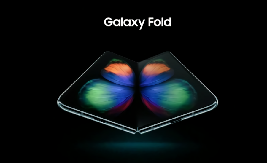 Galaxy Foldのレンダリング画像