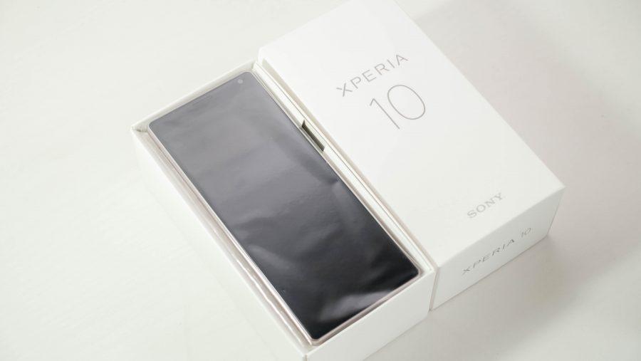 Xperia 10のパッケージ
