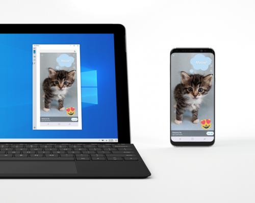 Windows 10でAndroidスマートフォンをミラーリング