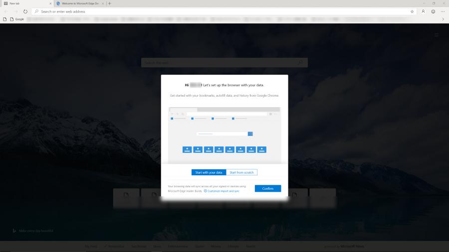 Chromiumベースの「Microsoft Edge」、Devチャンネルをインストール