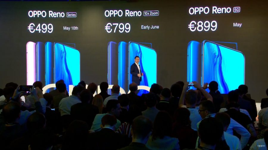 ヨーロッパでのOPPO Renoの発売時期と価格