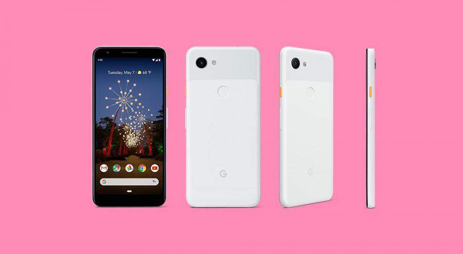 Pixel 3a XLのホワイト