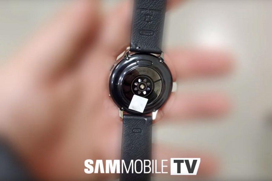 Galaxy Watch Active 2の裏側