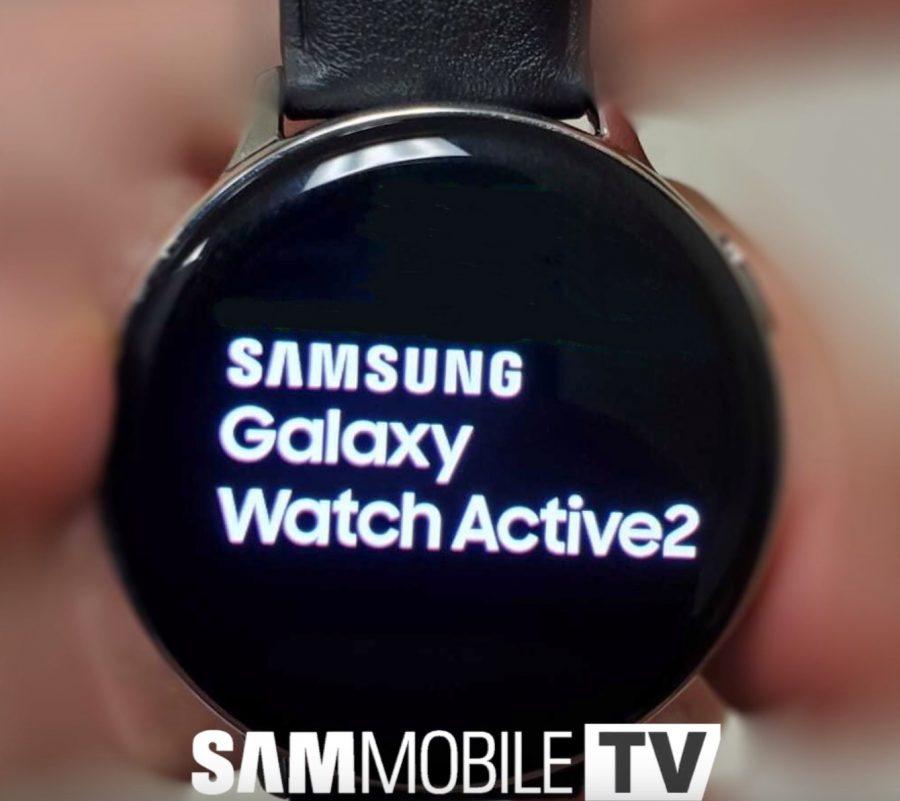 Galaxy Watch Active 2の起動画面