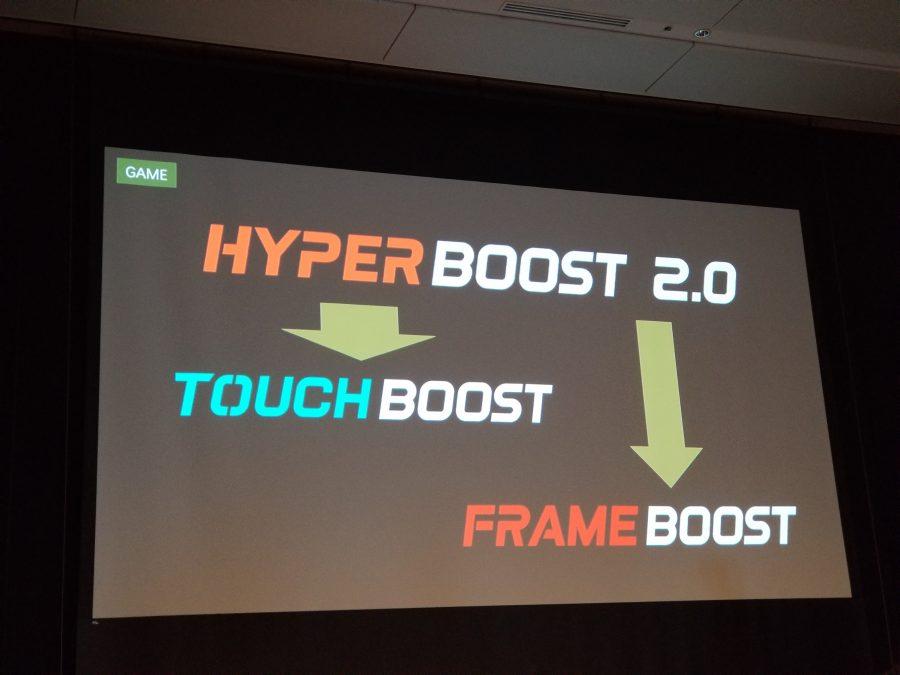 ハイパーブースト2.0を搭載