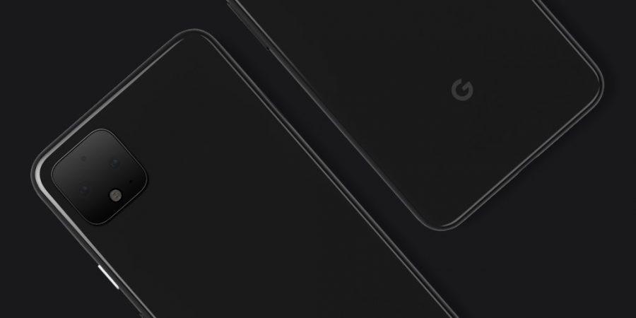 Pixel 4のレンダリング画像