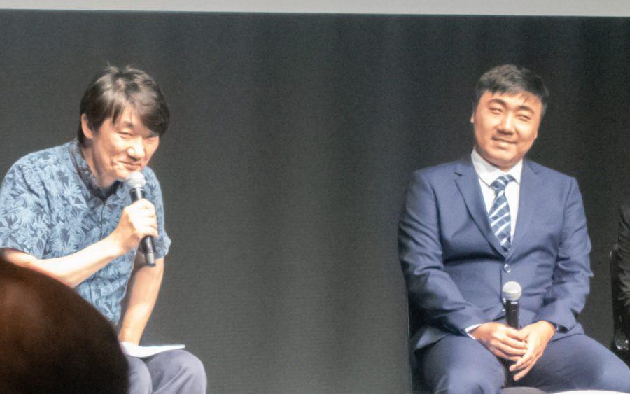 李龍佳氏と山根康宏氏