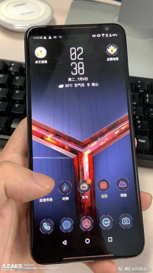 ROG Phone 2の実機リーク