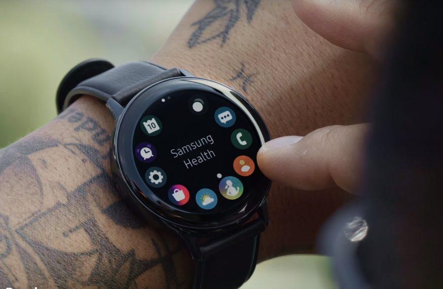 Galaxy Watch Active2のタッチベゼル