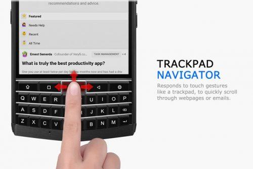 TRACK-PAD NAVIGATOR