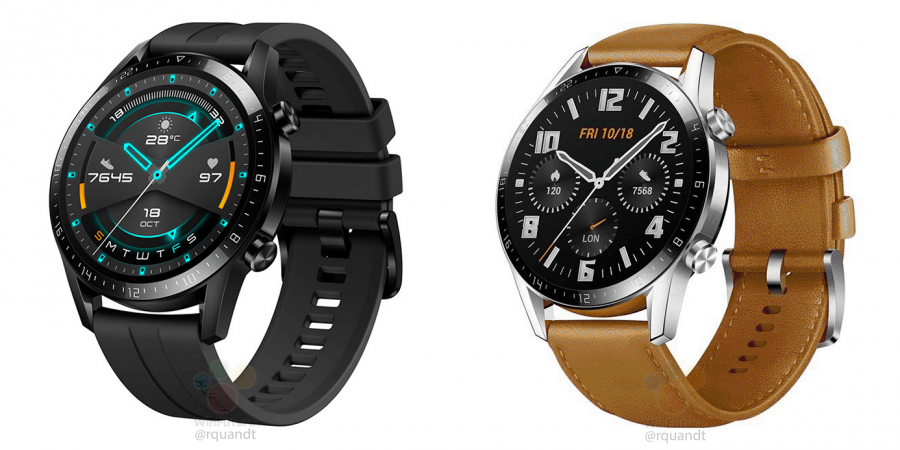 Huawei Watch GT 2のレンダリング画像