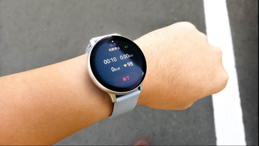 アクティビティトラッカーとしてのGalaxy watch Active2