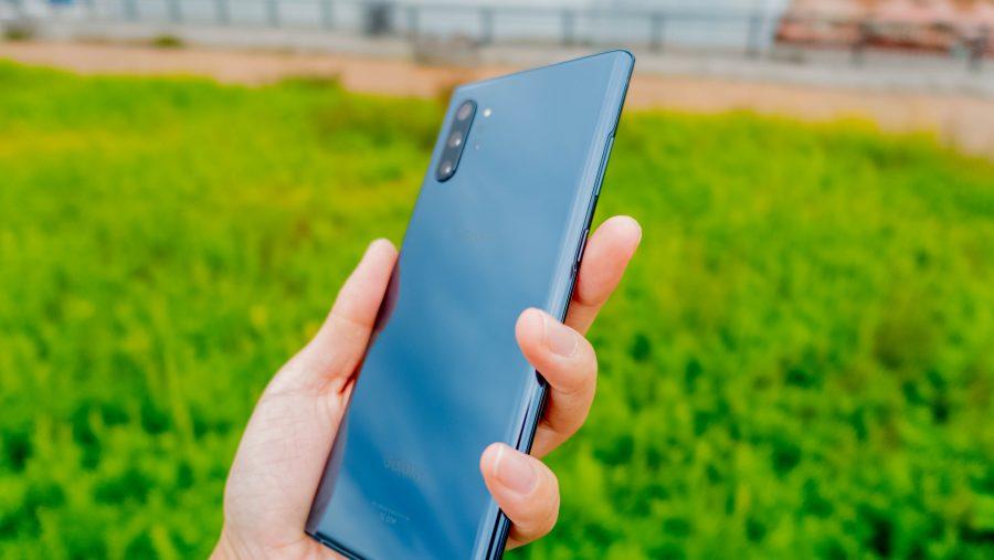 Galaxy Note10+のブラック
