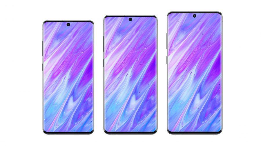 Galaxy S11のレンダリング画像