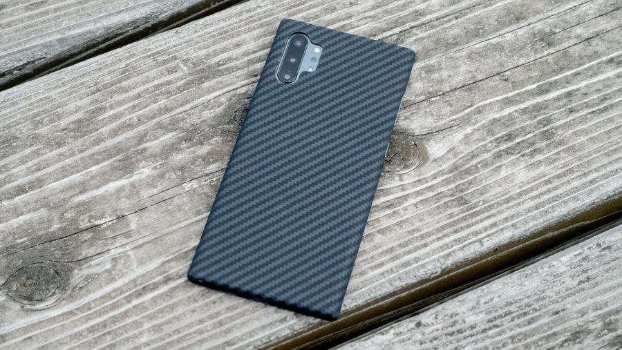 Galaxy Note10+にMagcaseを装着