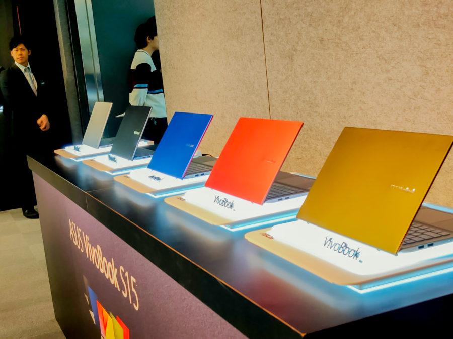 VivoBook S15のカラーバリエーション