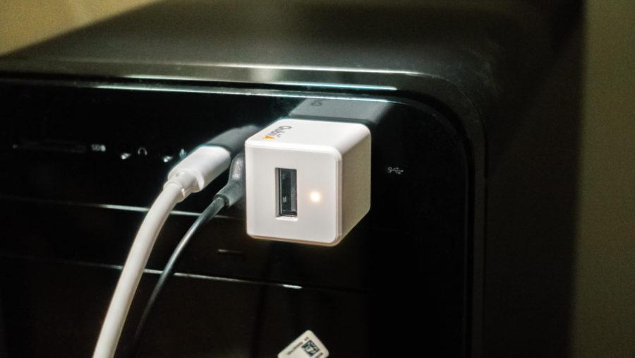 Qubii Aを直接PCに接続
