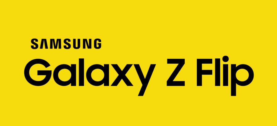 Galaxy Z Flipのロゴ画像