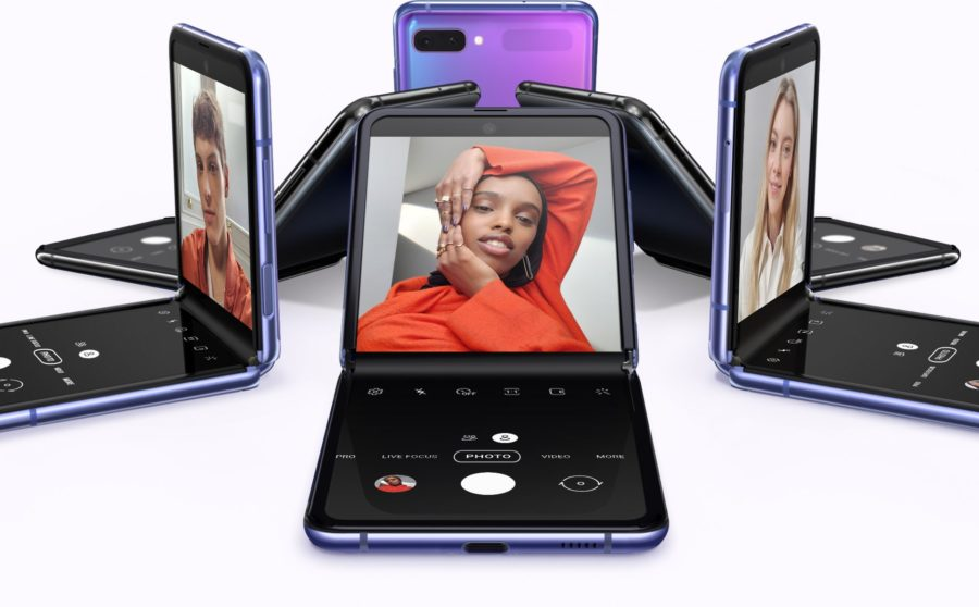 Galaxy Z Flipのディスプレイ