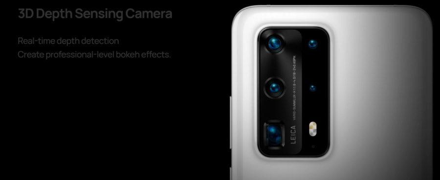 P40 Pro+のカメラ