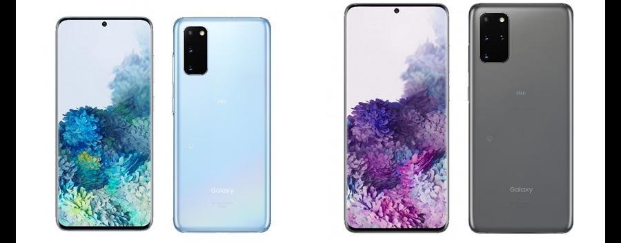 Galaxy S20 5GとGalaxy S20+ 5G
