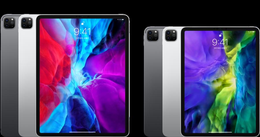 新型iPad Pro(2020)の11インチモデルと12.9インチモデル
