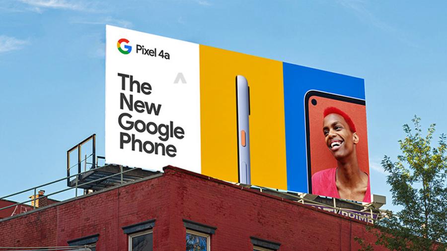 リークされたPixel 4a用の広告画像