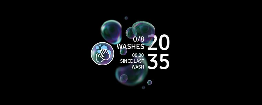 「Hand Wash」ウォッチフェイス