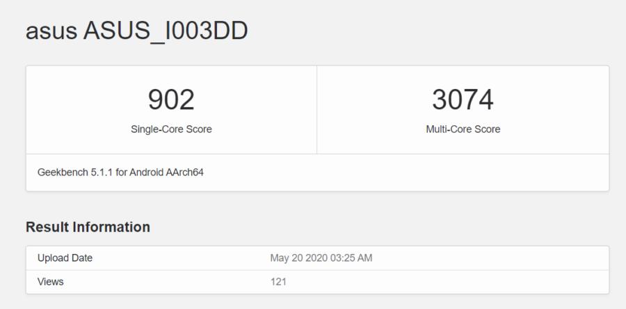 「ASUS_I003DD」のベンチマークスコア