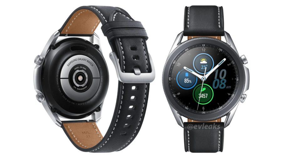 Galaxy Watch3のレンダリング画像