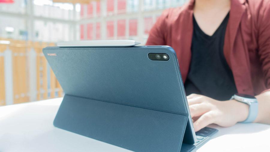 スマートワイヤレスキーボードでMatePad ProをノートPCライクに使う
