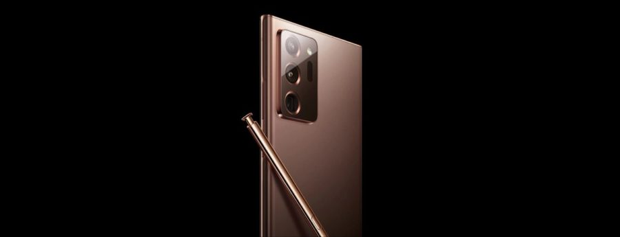 Galaxy Note20 Ultraの公式レンダリング画像